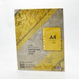 TIMEWALKER透明环保A4活页文件袋11孔