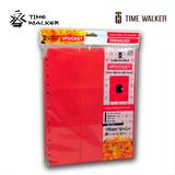 TW 侧插 9格卡页-标准尺寸-红